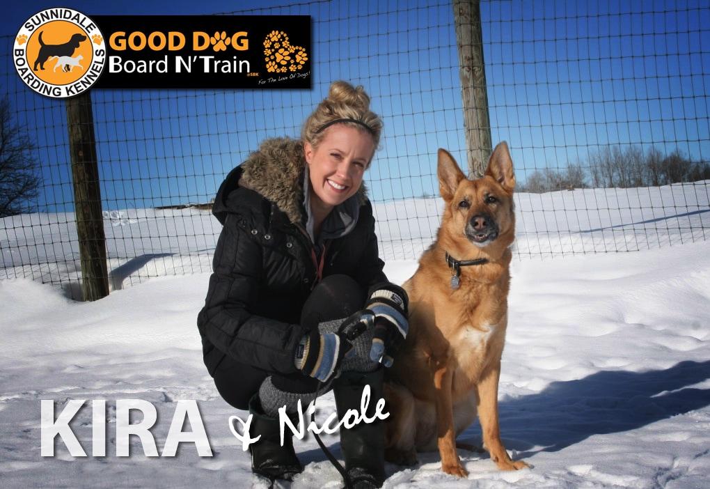Nicole Mann Dog Trainer Sunnidale Boarding Kennels Sunnidale